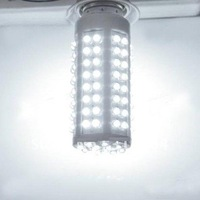 HOT!! 6 PCS 108 LED Corn Light Bulb Lamp 5W E27 220-240V Warm White/ White Lamp Wholesale