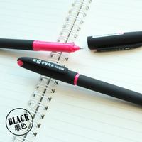 M&G school office supplies  Plastic black Gel pens BLACK 0.5MM office ORDER MORE THAN 50 pieces FREE SHIPPING pen children