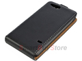 Magnetic Flip PU Leather Case for Sony Xperia go ST27i, Free Shipping
