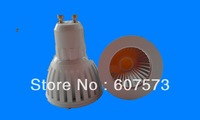 .Free shipping COB  50pcs  3w GU10 220v led spotlight LED BULB