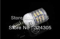 wholesale Brandnew E14Screw Socket 48 LED High Power Energy Saving Light Lamp Warm White cool white Spotlight Light freeshipping