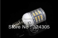 wholesale Brandnew E14Screw Socket 48 LED High Power Energy Saving Light Lamp Warm White cool white Spotlight Light freeshipping