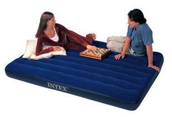 Intex 68759 double Classic Downy Air Bed Inflatable Mattress(China (Mainland))