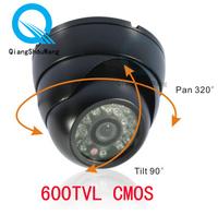 Surveillance 600TVL CMOS 3.6mm lens Color Dome Video CCTV Security Camera W03-6