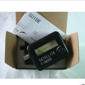 Free Shipping Satellite finder Signal Finder Meter, Mini type(China (Mainland))