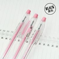 M&G school pen  Plastic black Gel pens BLACKCrystal0.5MM office StudentsORDER MORE THAN 50 pieces FREE SHIPPING