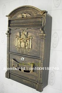 metal mailbox,popular for apartment,Villa mailbox,letter box