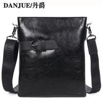 FREE SHIPPING! Men genuine leather messenger shoulder bag