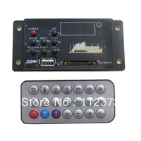 RV Camper In wall mount line level stereo Mp3 player USB SD FM Radio W/ Remote for Motor Home,Car