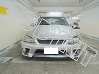 Free shipping LEXUS 98-05 IS200 IS300 RS200 ALTEZZA T JDM FRONT BUMPER MESH GRILLE
