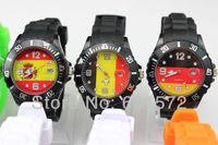 hot sale fashion watches men,30pcs/lot fashion design calendar watch,different country flag design,for men/women,freeshipping