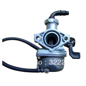 KF brand carb for 125cc dirt bike engine,munual choke, horizontal 125cc engine parts, 125cc horizontal carb cheap