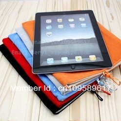 Free Shipping case/bag Fabric cloth sack  for tablet pc computers laptop for iPad 2 3 Accessories Sleeve Soft Bag