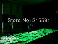wholesale and retail FREE SHIPPING Interactive floor projection system for Advertising, Entertainment, event