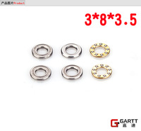 Freeshipping GARTT GT450 3*8*3.5 Size Trust Bearing (5 PIECES/LOT) For 450 RC Helicopter  100% Compact Align Trex