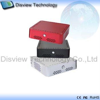 Factory outlets: Ultra-small Mini  ITX Desktop WIFI PC wireless Computer wifi Server 52R-5W:CPU D525 /RAM 2GB/ SSD 64GB/ WIFI