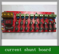 Free shipping 1pcs 9 road output switching power supply wiring board, current shunt board wit fuse