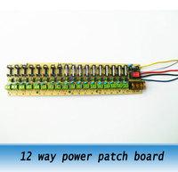 18way power supply board, 12V distribution board, power patch board Wiring terminal