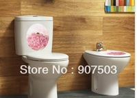 Wall stick - Korean creative DIY color closestool stick waterproof don't fade make fun of toilet and g