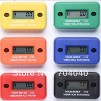 VIBRATION  Activated Hour Meter For Trailers Motors Equipment Machinery Waterproof