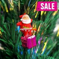 20pcs/lot Free Shipping Hot Sale Christmas decoration Xmas tree gift Santa Claus pendant ornament m101