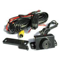 Pin nailed Car vehical rear back view camera IP68 Infared Night Vision PAL NTSC