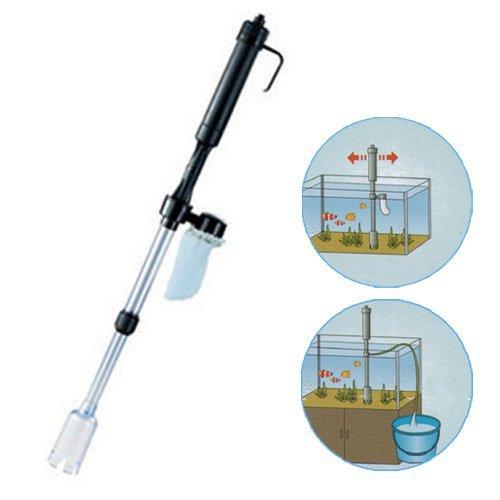 S5Y Aquarium Fish Tank Vacuum Syphon Auto Gravel Water Filter Cleaner Washer New(China (Mainland))