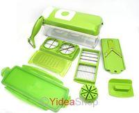 1 set Useful Easy Fruit Vegetable Kitchen Tools Cutter Plus Chop Peeler Chopper 80002