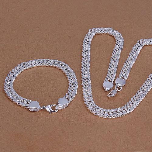 [해외]?/ Wholesale 925 silver jewelry set, fashion jewlery s..