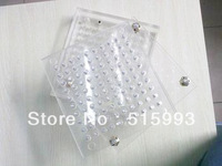 187 holes Manual Capsule Fill board ,without tamping tool  #00 to #5