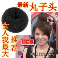 Wholesale-New Big Bun maker hair styling tool do soft band Audrey Hot#N634