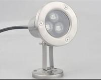3W RGB LED Spot Light / Led Underwater Lamp Waterproof IP68 220V Energy-saving Lamp 85-265V
