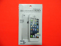 Anti glare matte screen protector for iphone 5 iphone5 10pcs front+10pcs back =20pcs with retail pack