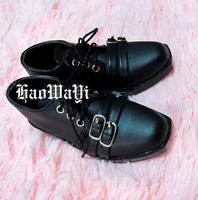 1/3 Uncle Bjd shoes leather measurement leather