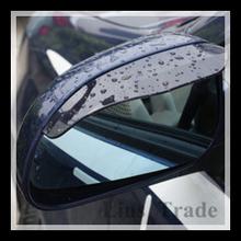 Free Shipping New 2PCS/Lot Car Rain Shield Rear View Side Mirror Shower Blocker Cover Sun Visor Shade Guard #8087(China (Mainland))
