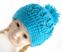 Newest Baby's Winter Knitted Cap Suitable for Neonate Kid's Lovely Hat,10 pcs MOQ Free shipping