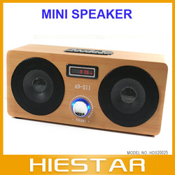 Audio Dock, MP3, Radio, Wood Soundbox,Easy Operation Rich Sound Player Free shipping(China (Mainland))