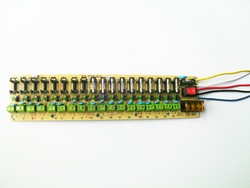 18way power supply board, 12V distribution board, power patch board Wiring terminal(China (Mainland))