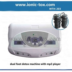 Ionic detox foot machines with CE cerfiticates WTH-203(China (Mainland))