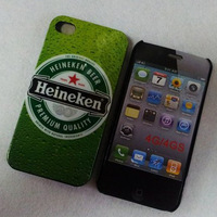 Cool!!! Beer Cans design hard plastic skin case cover for iphone 4/4s 10 pcs/lot  free shipping