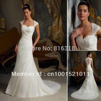 Vestido де Noiva 2014 Sereia винтаж сексуальное русалка свадебное платье дешево свадебное платье 2014 свадебное платье Vestido де Casamento