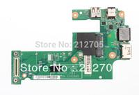FREE SHIPPING for Dell Inspiron 15R  N5010 DG15 IO Board 48.4HH02.011 USB E-SATA Lan DC 01002