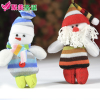 Christmas christmas tree christmas decoration doll small gift christmas gift christmas snowman 14cm