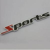 3D Metal Sports Emblem Car Truck Motor Sticker Auto Decal Car Sticker Free Shipping