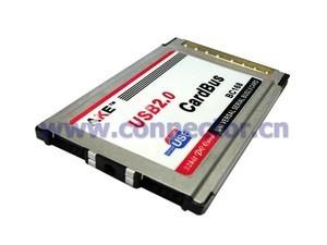 2 Ports USB 2 0 PCMCIA PC CardBus Latop Notebook 54mm Via Chip Adapter Insert