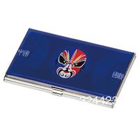 Peking Opera styles of makeup stainless steel cardcase