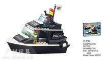 Building Block Set SLuBanM38-B1700 Riot cop/patrol 99PCS,3D Block Model,Educational