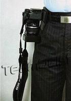 20pcs/lot Black Camera Holster DSLR Digital Camera Hook belt hanger SLRS belt buckle carry/suspension camera Free Shipping