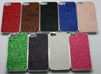 Deluxe Design Cute Faerie Aluminium Case For iPhone 5 5G,  100pcs/lot