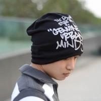free shipping 1pcs Hat male trend cap autumn and winter casual cap letter turban fashion hip-hop hiphop cap